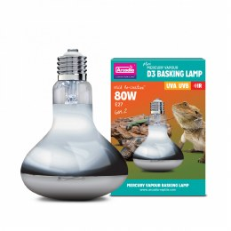 Arcadia 2nd Generation Mini D3 UV Basking Lamp 80 Watts