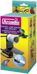 Arcadia Ceramic Lamp Holder and Bracket