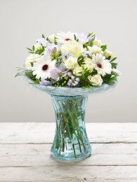 Arctic Blue Vase Plus