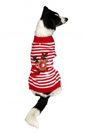 Reindeer Jumper For Dog Extra Small