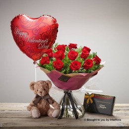 Be Mine Rose Gift Set