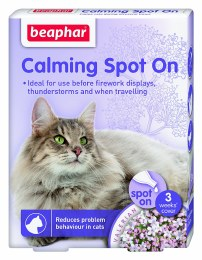 Beaphar Calming Spot On for Cats 3-Week