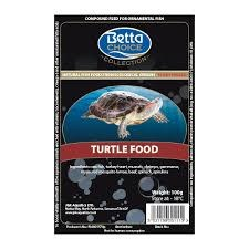Betta Choice Turtle Food Blister Pack