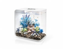 BiOrb Flow 30L in White with Multi-Coloured Remote Control Lighting