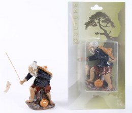 Bonsai Accessories Chinese Fisherman (ceramic)