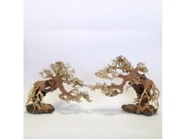 Aquarium Ornament Bonsai Stork Wood Med  25 x 20 x 10cm