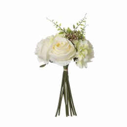Artificial Bouquet Hydrangea Rose Cream