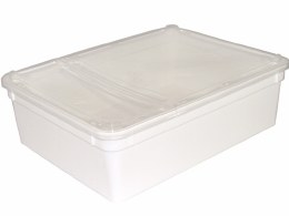 BraPlast Hinged Box White 3.0L