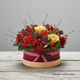Burgundy Beauty Hatbox