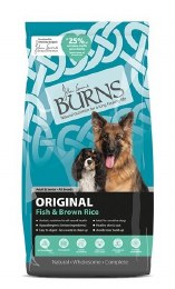 Burns Original Fish & Brown Rice 2KG