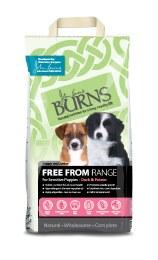 Burns Free From Range Puppy Duck & Potato 2kg