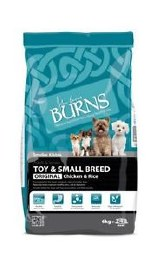 Burns Toy & Small Breed Chicken & Rice 6kg