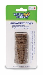 Busy Buddy Natural Rawhide Refills Small