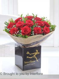 Dramatic Dozen Red Roses - Perfect Valentine's Day Gift