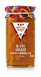 Cottage Delight Blood Orange Thin Cut Marmalade 350g