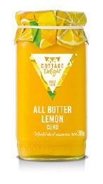 Cottage Delight All Butter Lemon Curd 310g