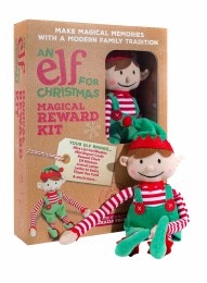 An Elf For Christmas Christmas Boy Elf Toy & Magical Reward Kit