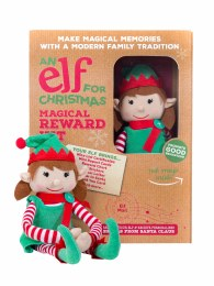 An Elf For Christmas Christmas Girl Elf Toy & Magical Reward Kit