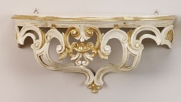 Christmas Ivory Gold Shelf 48x24x20cm