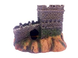 Aquarium Ornament Castle Turret & Wall