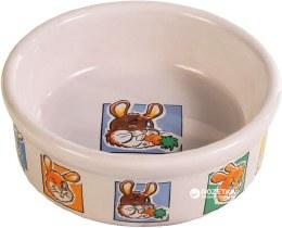 Small Animal Ceramic Bowl with Rabbits 11cm