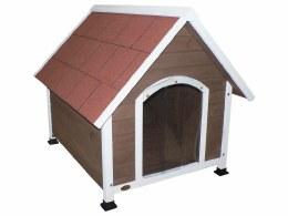 Cheeko Apex Dog Kennel Mocha Small 71x76x74cm