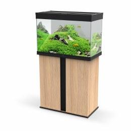Ciano Emotions Pro 80 Black Aquarium With Amber Trim Cabinet