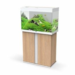 Ciano Emotions Pro 80 White Aquarium With Amber Trim Cabinet