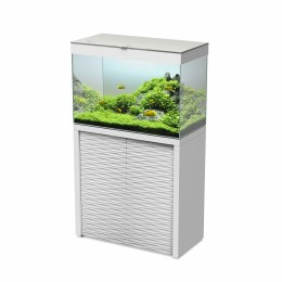 Ciano Emotions One 80 White Aquarium With White Cabinet