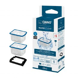 Ciano Water Clear Cartridge Small - Suitable For Ciano CF40 Filter