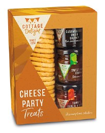 Cottage Delight Cheese Party Treats Gift Pack