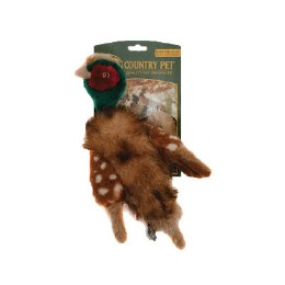 Country Pet Rope Pheasant Small