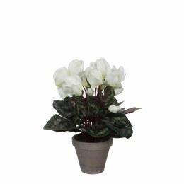 Artificial Cyclamen Plant White