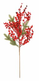 Christmas Red Berry Pick 60cm