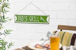 La Hacienda Dad's Grill Wall Sign