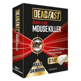 Deadfast Mouse Killer Bait station - Ready To Use (Twin Pack)