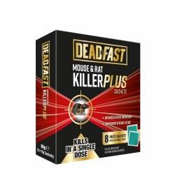Deadfast Mouse & Rat Killer Plus Sachets