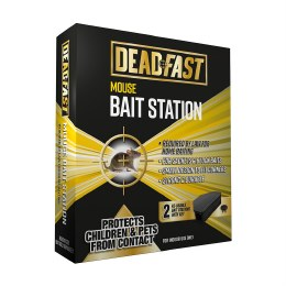 Deadfast Mouse Bait Station (Twin Pack)