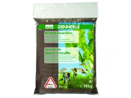 Dennerle Quartz Gravel 10kg - Dark Brown