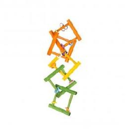 Colourful Wooden Bird Ladder