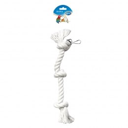 Bird Toy Parrot Rope 3 Knots