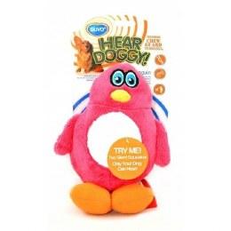 HearDoggy Plush Penguin Dog Toy