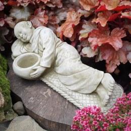Buddha Laying Tealight Monk