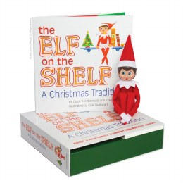 The Elf On The Shelf - Girl - A Christmas Tradition