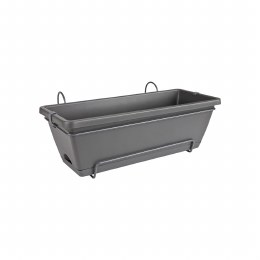 Elho Barcelona All in One 50cm Window Box Anthracite