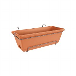 Elho Barcelona All in One 50cm Window Box Terracotta Colour