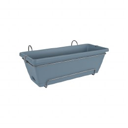 Elho Barcelona All in One 50cm Window Box Violet Blue