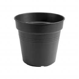 Elho Green Basics Growpot 21cm Living Black Colour