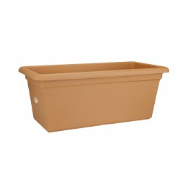 Elho Green Basics XXL Trough 80cm Terracotta Colour