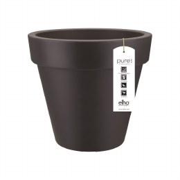 Elho Pure Round 100cm Plastic Pot Anthracite
